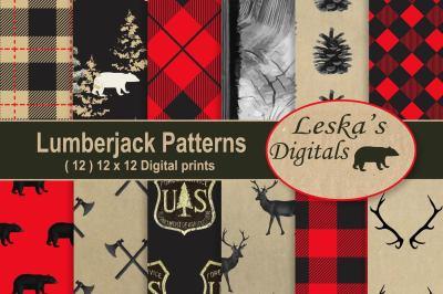 Lumberjack Digital Paper