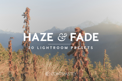 Haze & Fade Lightroom Presets