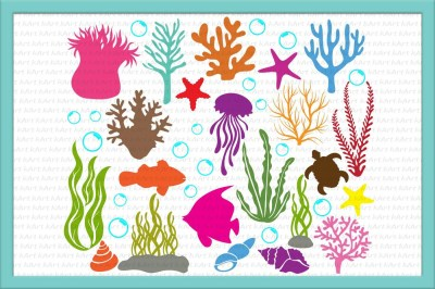 Under the sea Bundle Cutting file SVGs