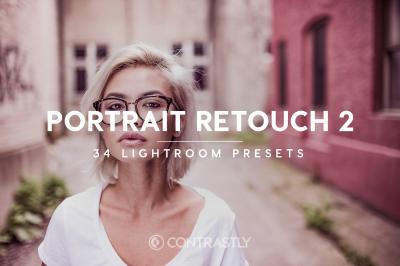 Portrait Retouch Lightroom Presets Vol. 2