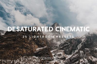 Desaturated Cinematic Lightroom Presets