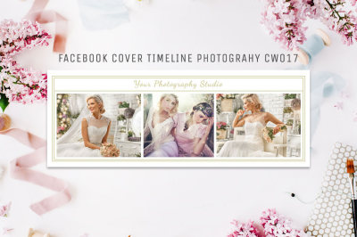 Facebook Timeline Cover Template Photography CW017