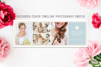 Facebook Timeline Cover Template Photography CW018