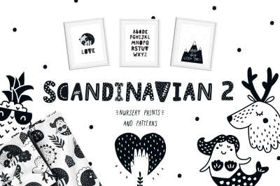 Scandinavian 2 - Nursery prints