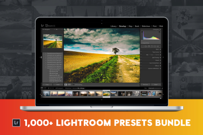 1,100+ Pro Lightroom Presets Bundle