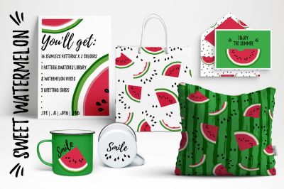 Watermelon patterns & more