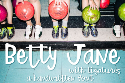Betty Jane Script Font