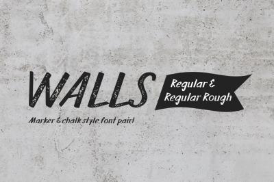 Walls Regular & Walls Rough Regular