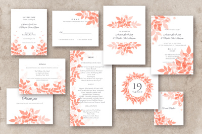 Foliage Wedding Suite No.1