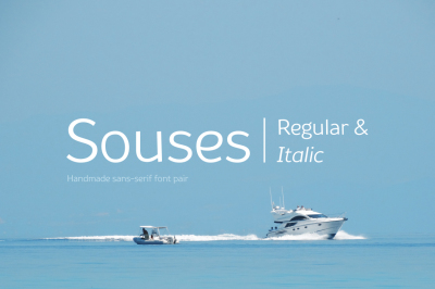 Souses — Regular & Italic