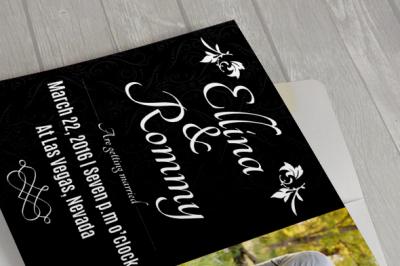 Modern Wedding Card III