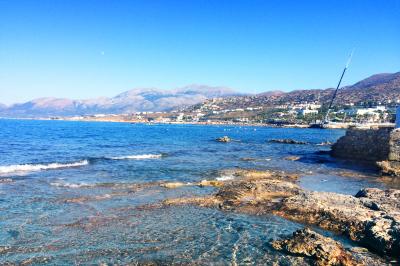 Exotic coast of Crete, Greece