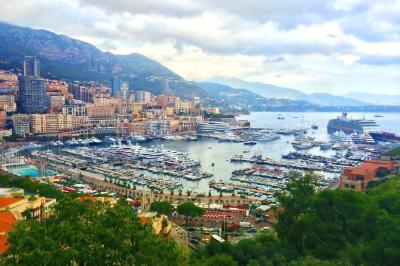 French riviera. Monaco. Monte Carlo. harbour