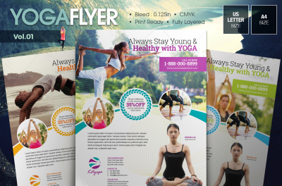 Yoga Flyer Vol.01