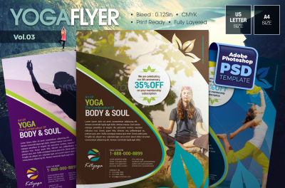 Yoga Flyer Vol.03