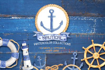 Nautical Watercolor Collections