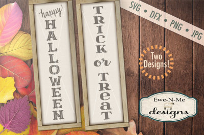 Halloween - Trick or Treat SVG Bundle - Vertical