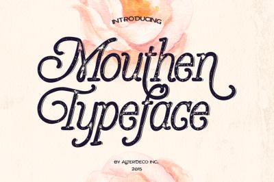 Mouthen Typeface