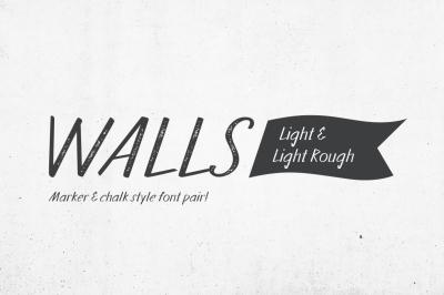 Walls Light & Walls Rough Light