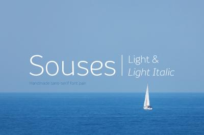 Souses — Light & Light Italic