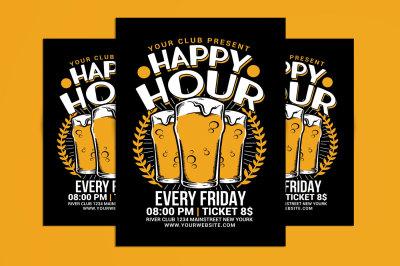 Happy Hour Beer Flyer