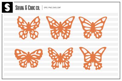 'Beautiful Butterflies' cut files