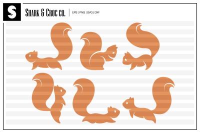 'Cute Squirrels' cut files