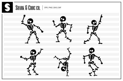 'Dancing Skeletons' cut files