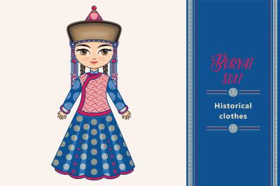 Buryatia. Historical clothes.