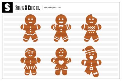'Gingerbread Man' cut files