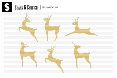 'Graceful Deer' cut files