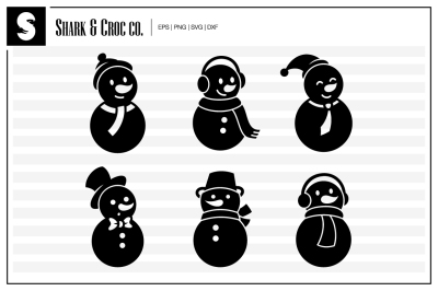 'Happy Snowman' cut files