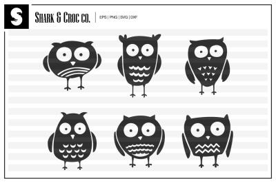 'Little Owls' cut files