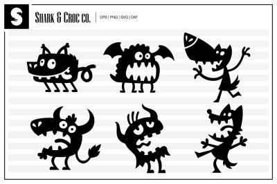 'Monsters' cut files