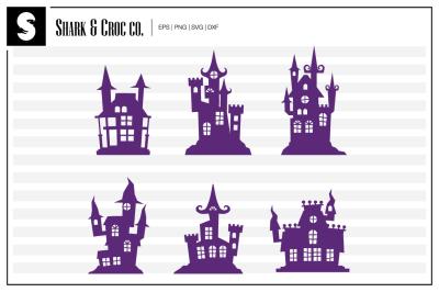 'Scary Castle' cut files