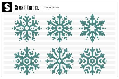 'Snowflakes' cut files