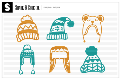 'Winter Hats' cut files