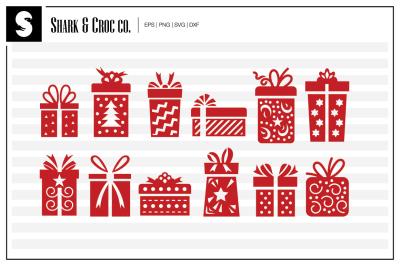 'Xmas Gifts' cut files