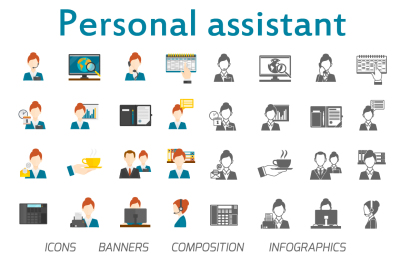 Personal assistant set