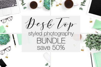 Desk Stock Photography Bundle