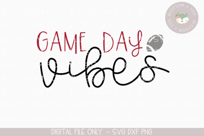 Game Day Vibes, Touchdowns, Football SVG,