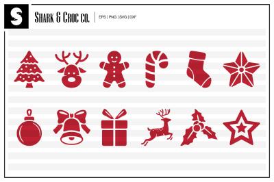 'Xmas Ornaments' cut files