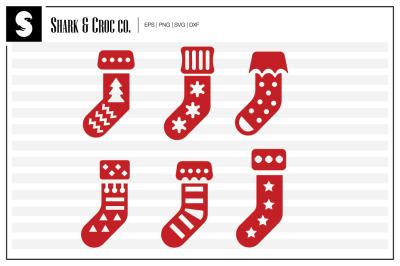 'Xmas Stockings' cut files