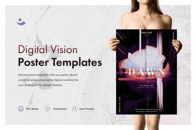Digital Vision Music Poster Templates