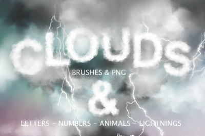 Cloud Graphics & PS Brushes