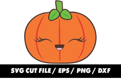 Pumpkin SVG for Silhouette and Cricut