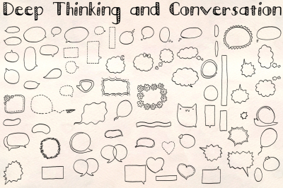 70+ Speech Bubbles - Vector Bundle