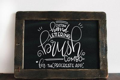 Lettering Brush Combo for Procreate