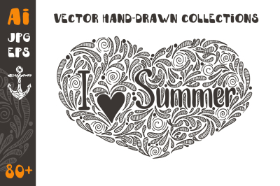 Summer Vector Collection 80+
