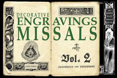 ENGRAVINGS MISSALS vol 2 + BONUS